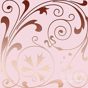 Rose Quartz Gold Komingo by Sharon Mau