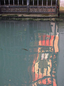 Rose Reflection by Simi Berman