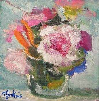 Rose Still life by Susan Jenkins