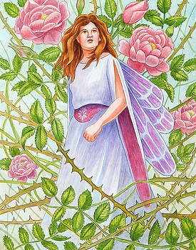 Rose Thorn Fairy by Rachel Armington