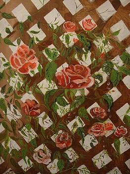 Rose Trellis by Julio Palomino
