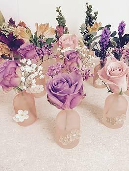 Rose Vases by Paulette Maffucci
