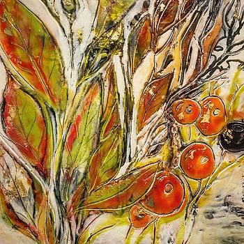 Rosehips by Jackie Cort