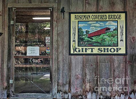 Roseman Covered Bridge Gift Shop by Stephen Schwiesow