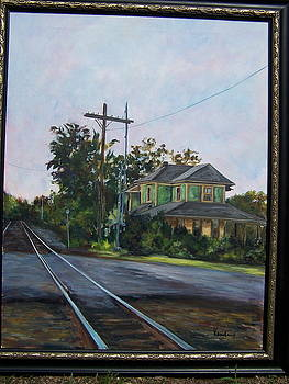 Rosemont Station by Susan Kneeland