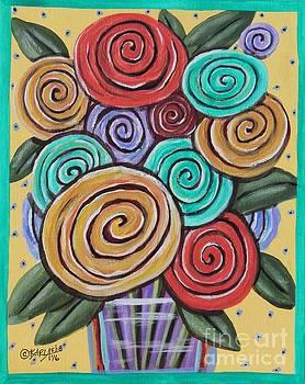 Roses 1 by Karla Gerard