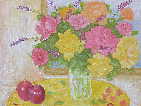 Roses and Apples by Thi Nguyen
