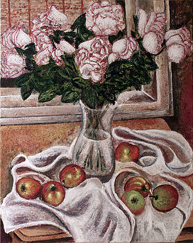 Roses and apples by Vladimir Kezerashvili