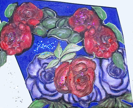 Roses And Blue by Clyde J Kell