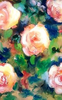 Patricia Taylor - Roses and Blueberries