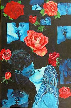 Roses and Kisses by Susan M Woods