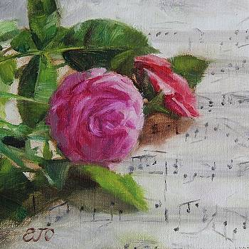 Roses and Music by Emily Olson