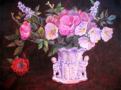 Roses and Primroses by Bill Meeker
