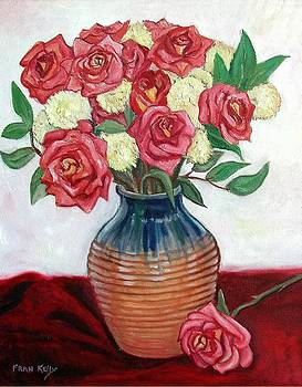 Fran Kelly - Roses and Vase