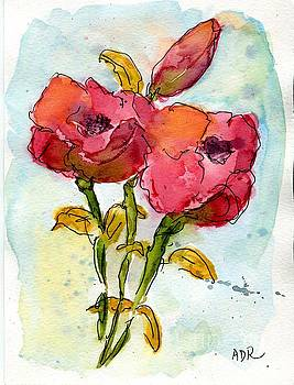 Roses by Andrea Rubinstein