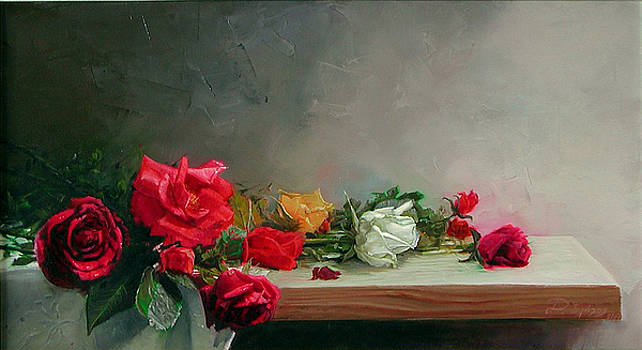 Roses by Demetrios Vlachos