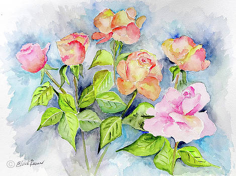 Roses by Elvira Rascov