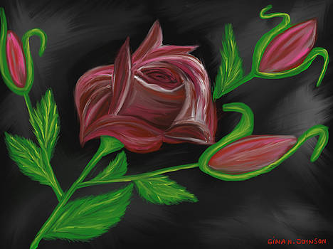 Gina Nicolae Johnson - Roses for my friends