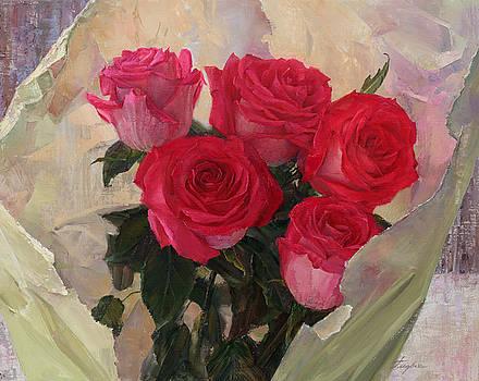 Roses by Galina Gladkaya