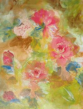 Roses in Bloom by Denice Palanuk Wilson