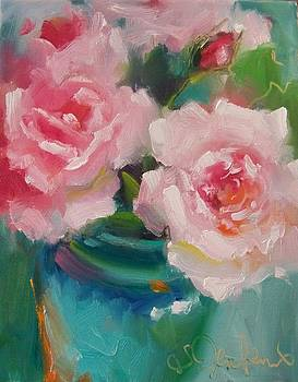 ROSES in PINK by Susan Jenkins
