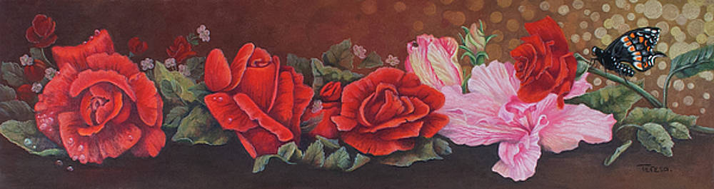 Roses in Red by Teresa Frazier