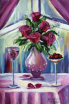 Roses by Khatuna Buzzell