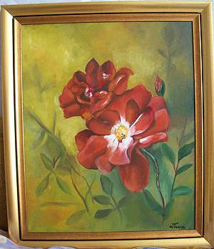 Roses by Larisa M