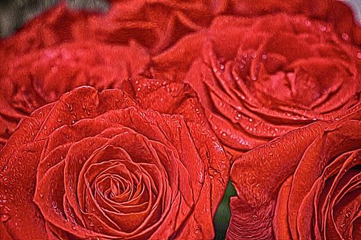 Roses by Tatiana Tyumeneva