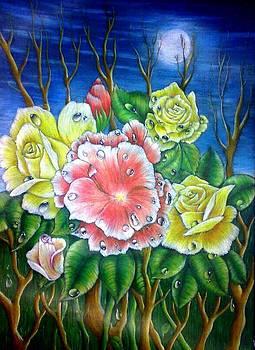 Roses Tears 2 by Tamer Elsamahy