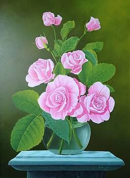 Roses by Zdzislaw Dudek