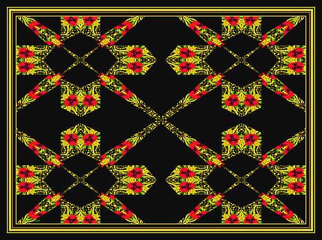 Roset Abstract  by Debra Lynch