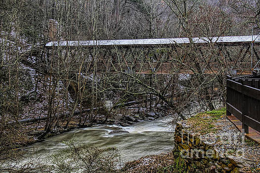 Barbara Bowen - Rosewell Manufacturing Co Covered Bridge