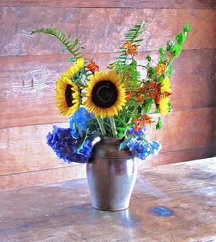 Ross Flowers by Larry Darnell