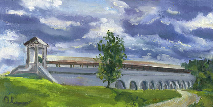 Rostokino Aqueduct by Lelia Sorokina