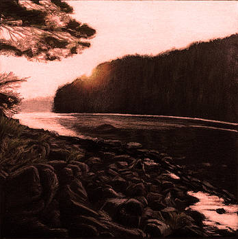 Rosy Glow of Morning by Susan Sarabasha