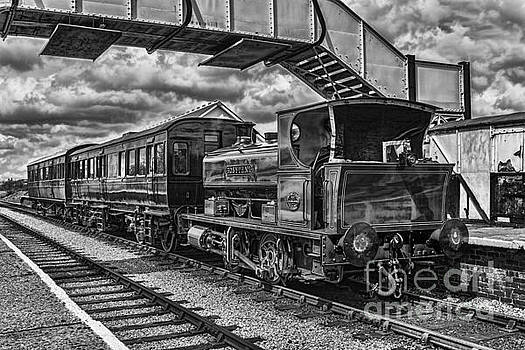 Steve Purnell - Rosyth No 1 At Furnace Sidings Mono