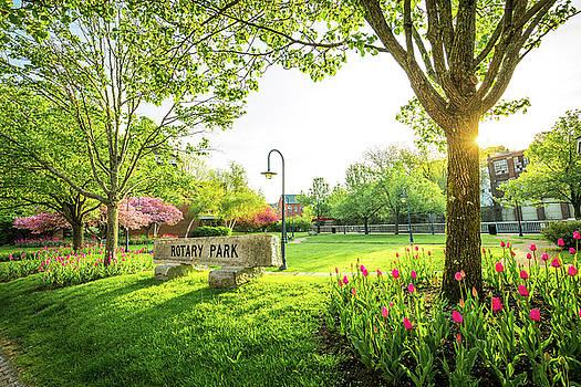 Rotary Park - Belknap Mill by Robert Clifford