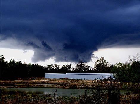 Karen M Scovill - Rotating Wall Cloud
