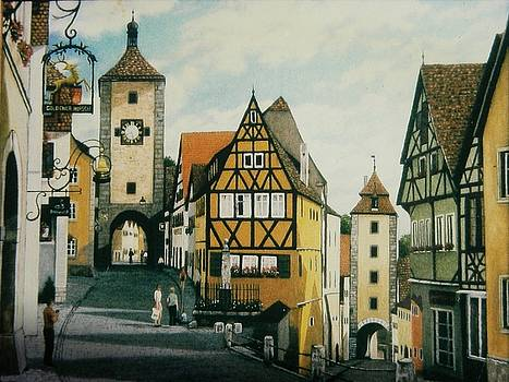 Rothenburg on the Tauber, Germany by Michael Winston