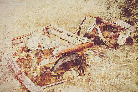 Rotting radioactive car by Jorgo Photography - Wall Art Gallery