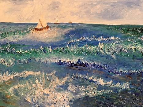 Rough Sailing on the Gulf of Mexico by Susan Grunin