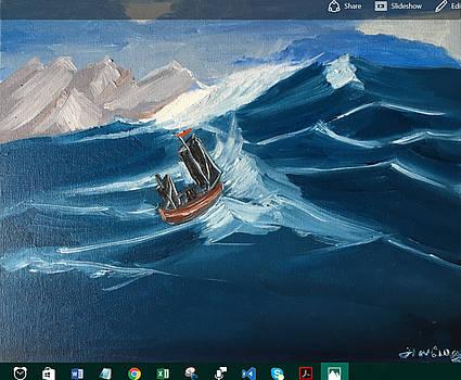 Rough sailing by Ramya Sundararajan
