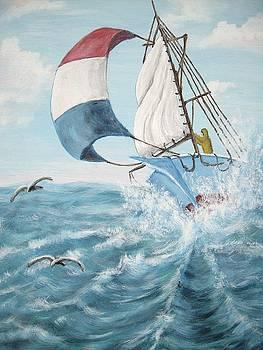 Rough Sailing by Vickie Wooten