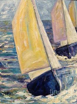 Rough Seas by JoAnn Wheeler