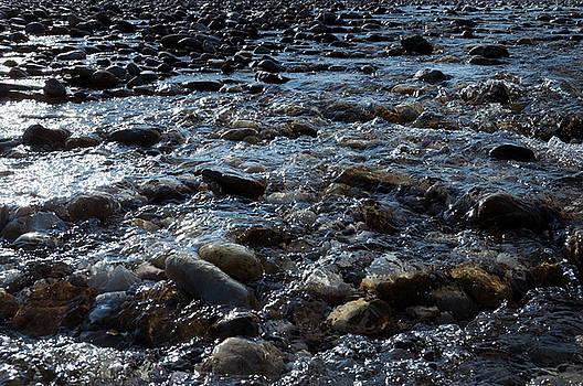 Rough waters by Helga Novelli