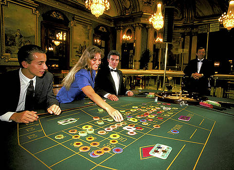 Roulette in Monte Carlo by Carl Purcell