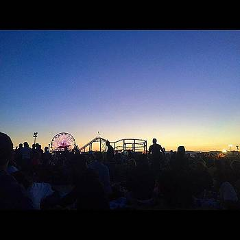 Santa Monica Pier Twilight Series  by Roomana Patel