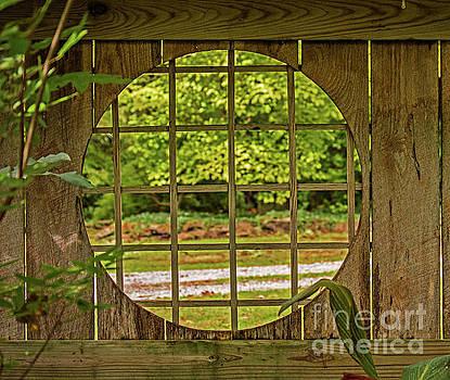 Round Window by Diane Friend