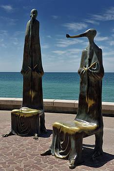 Reimar Gaertner - Roundabout of the Sea creature chairs Malecon Puerto Vallarta on